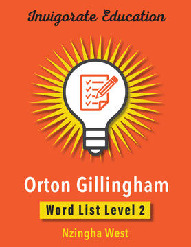 Invigorate Education Word List Book Level 2