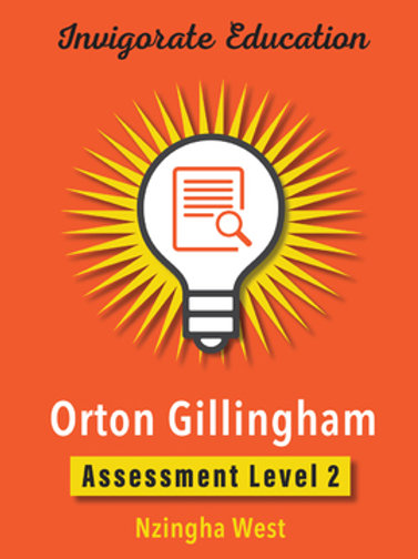 Invigorate Education Orton-Gillingham Assessment Book Level 2