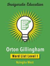 Invigorate Education Word List Book Level 1