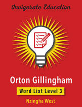 Invigorate Education Word List Book Level 3