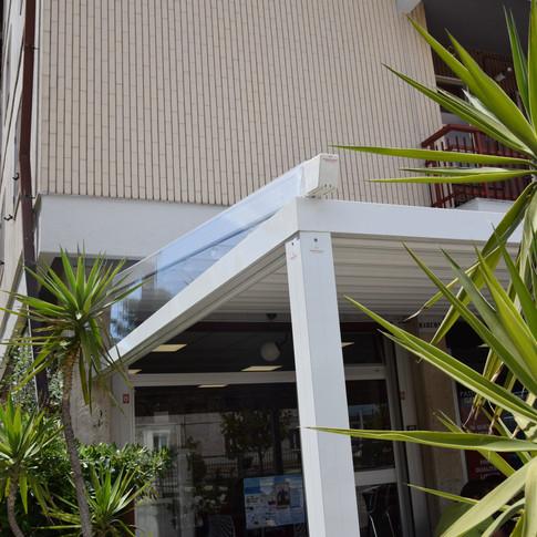 Pergola apollo 12x4,5 metri