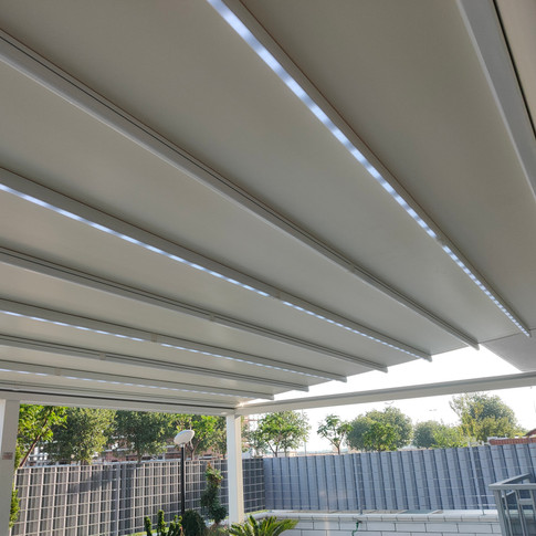 Pergola Apollo - Impianto a LED