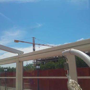 Apertura tetto pergola