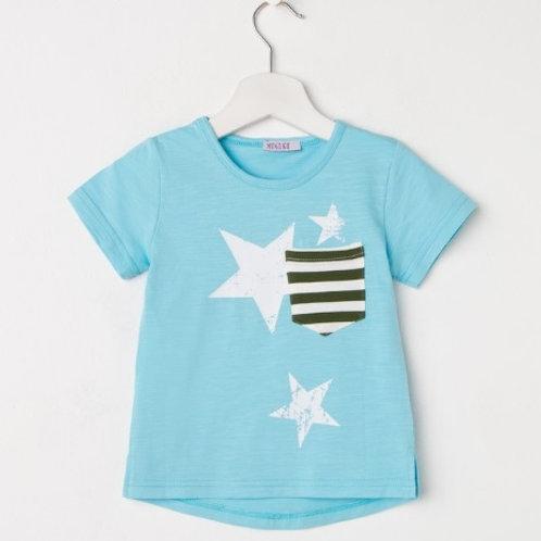 Футболка для девочки «Звёзды», 2 цвета