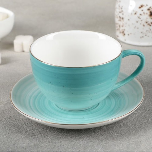 Чайная пара «Млечный путь», 2 цвета