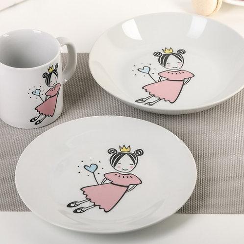 """Набор посуды """"Маленькая королева"""""""