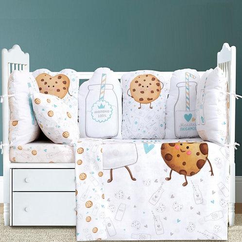 Детское постельное бельё Milk&Cookie