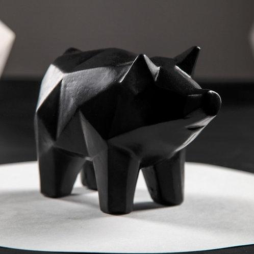 "Копилка ""Свинка оригами"""
