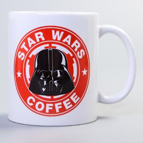 "Кружка сублимация ""Star wars coffee"""