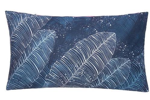 Подушка декоративная Синие Листья