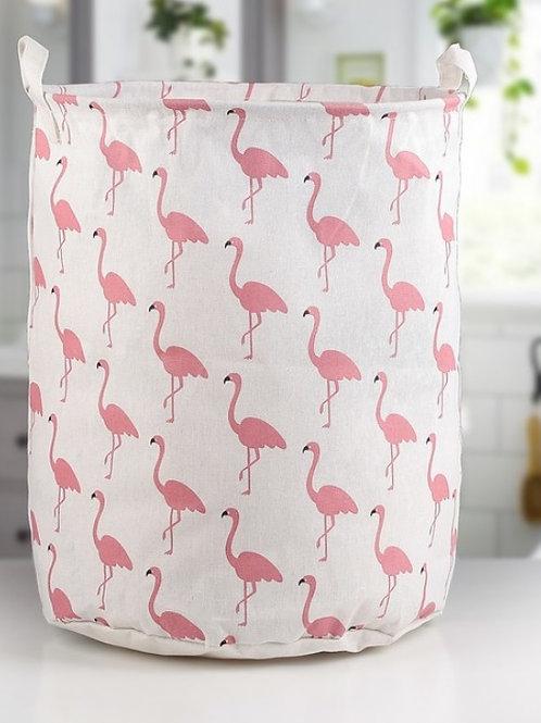 """Корзина для белья """"Фламинго"""""""