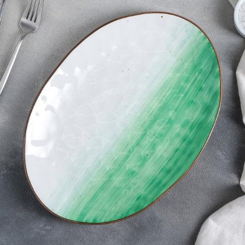 Блюдо «Зеленая планета»