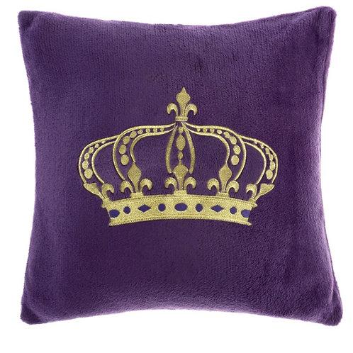 Наволочка Корона, фиолетовая