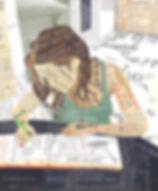 Ilustratie Schrijven