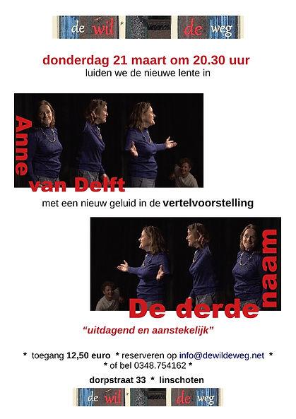 De Derde Naam Anne van Delft