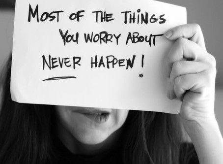 Ditch The Worrying......