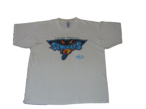 Vintage ABL Long Beach Stingrays Shirt