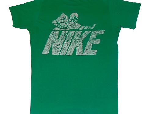Vintage 80s Nike Grant Teaff Camp Shirt