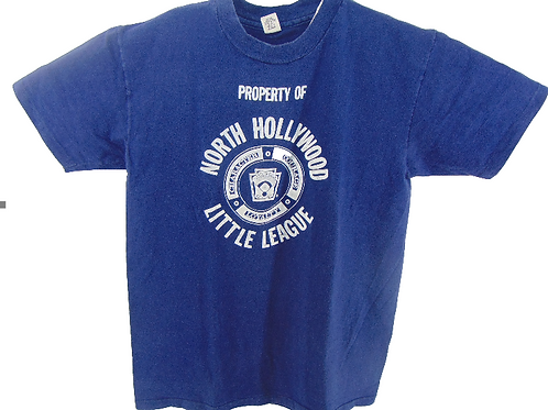 Vintage 80s North Hollywood Little League Shirt
