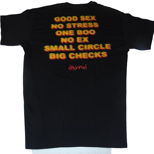 4 HUNNID Good Sex Black Shirt