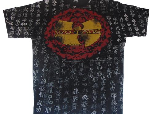 Vintage 2007 Wu-Tang Chinese Print Shirt (Rare)