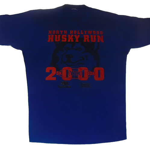 Vintage 2000 North Hollywood Huskies Run Shirt