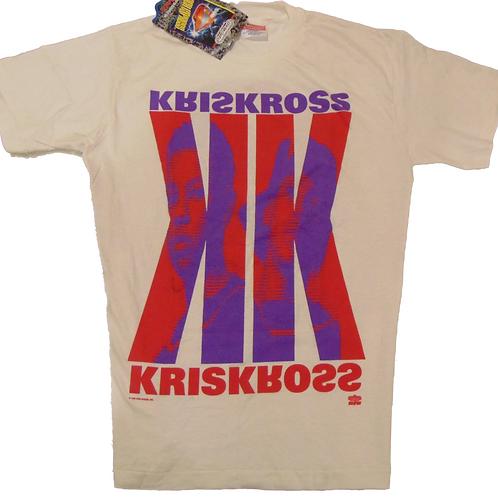 Vintage Kris Kross TotallyKrossed Out Winterland Shirt
