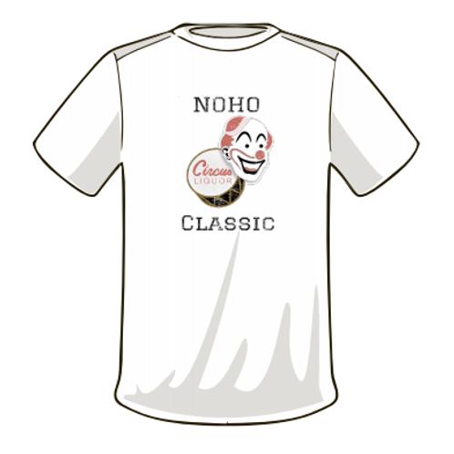 Noho Classic Circus Liquor - White T-Shirt