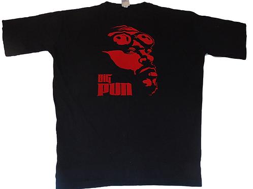 Vintage Big Pun 2005 Branded Red Graphic Shirt