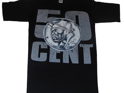 Vintage 50 Cent 2006 Power of the Dollar Shirt