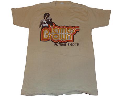 Vintage 70s James Brown Future Shock Shirt