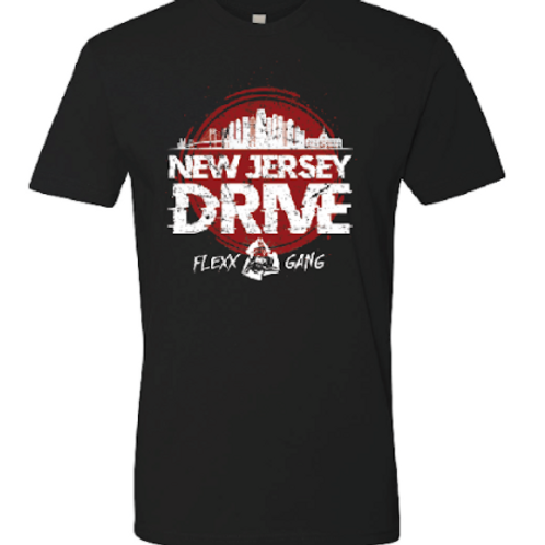 New Jersey Drive- Black T-Shirt