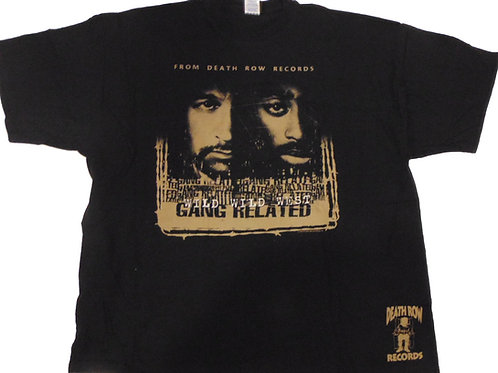 Vintage 2pac Death Row 2005 Gang Related Shirt