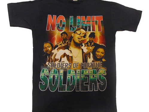 Vintage 90s No Limiit Soldiers of Fortune