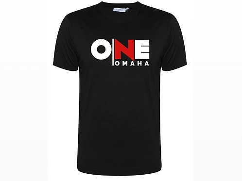 Omaha ONE - Black T-Shirt