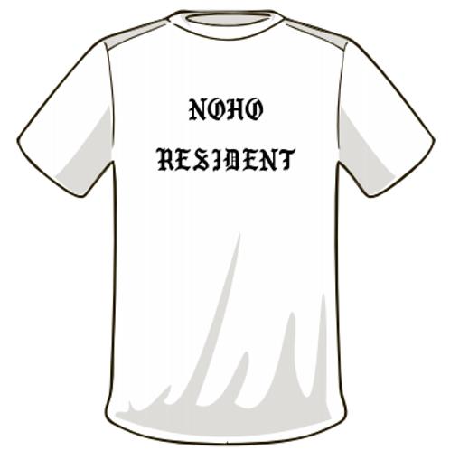 Noho Resident - White T-Shirt
