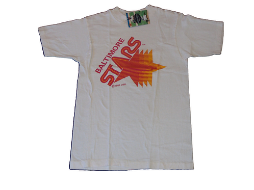 Vintage 80s Baltimore Stars USFL Shirt