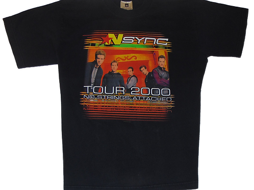 Vintage Nsync 2000 World Tour Winterland Shirt