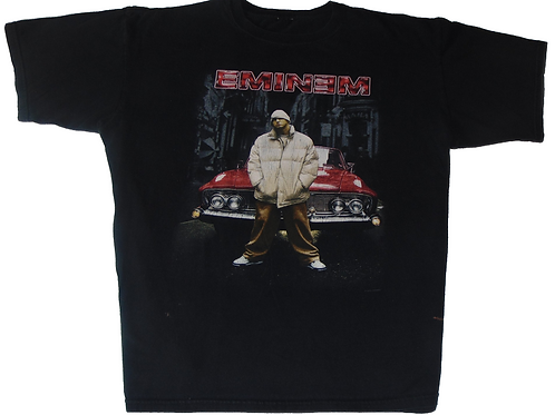 Vintage 2000 Marshall Mathers LP Red Lowrider Shirt