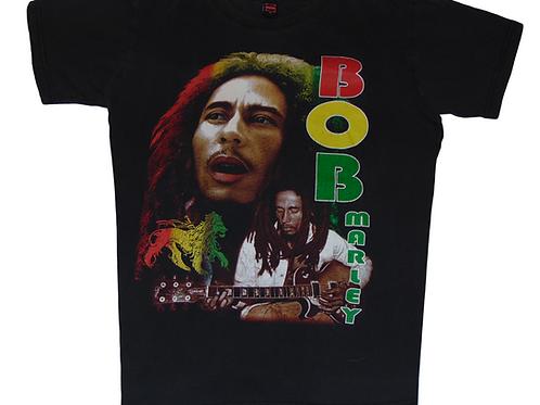 Bob Marley Vintage King Tag Shirt