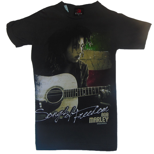 Bob Marley 2009 Song of Freedom Zion Brand Shirt