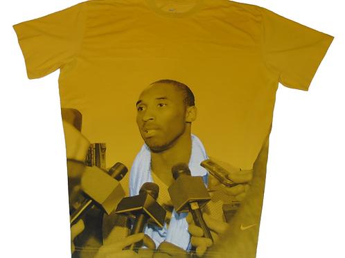 Kobe Bryant Vintage Nike Postgame Interview Shirt