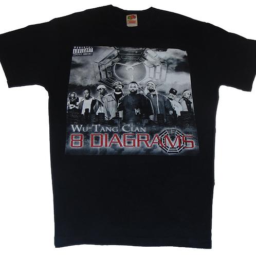 Wu-Tang Vintage 2007 8 Diagrams Tour Shirt