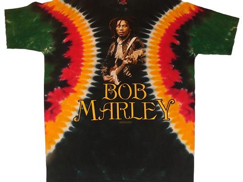 Vintage Bob Marley Zion Tie-Dye Shirt