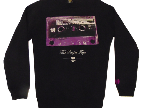 Vintage Raekwon Purple Tape Wu-Tang Label Sweatshirt
