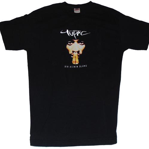Tupac Vintage Bir Asinin Olumu (Death of a Rebel) Turkish Book Promo Shirt