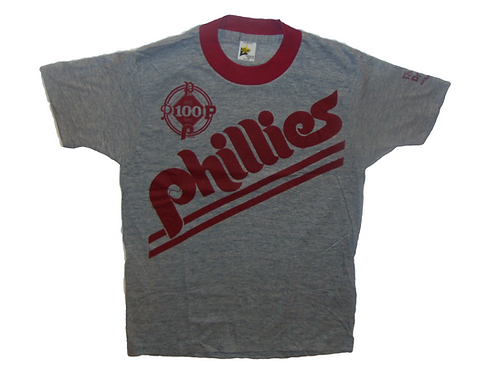 Vintage 1983 Phillies 100th Anniversary Shirt