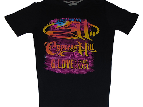Cypress Hill 311 and G.Love 2013 Unity Tour Shirt