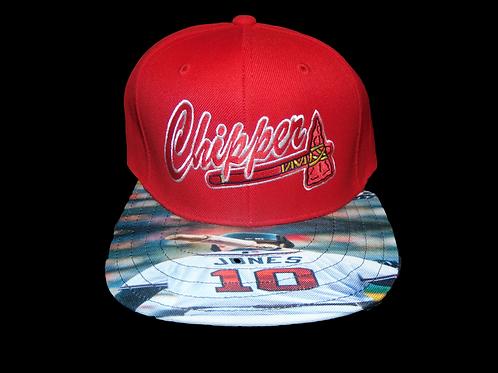 Chipper Atlanta Braves Snapback by 1ofakindsnapbacks