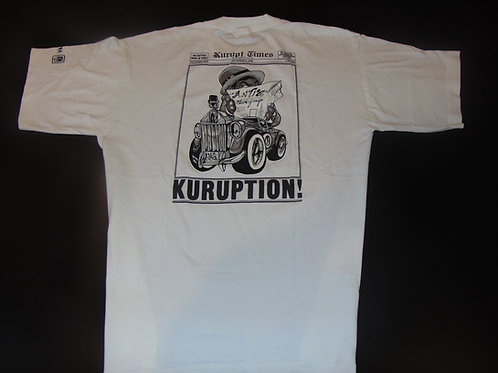 Vintage 90s Kurupt Kuruption Album Promo Shirt